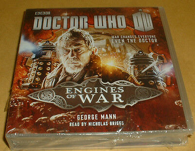Doctor Who-Engines Of War--7 Cd Audio Book  Brand  New Sealed