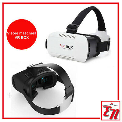 Occhiali VR BOX 2.0 REALTA' VIRTUALE 3D Smartphone Iphone Android