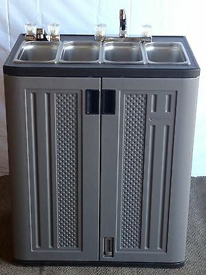 Portable Vending/concession Cart Sink With Hot Water