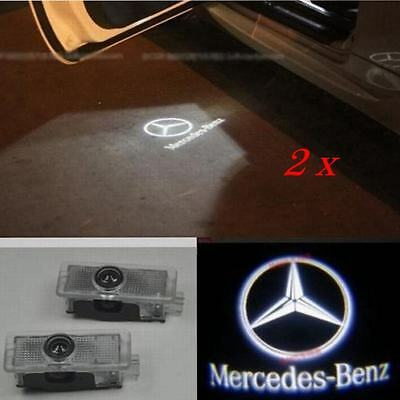 For Mercedes-Benz CLS CLA C207 2x Laser LED Door courtesy Shadow Projector Light