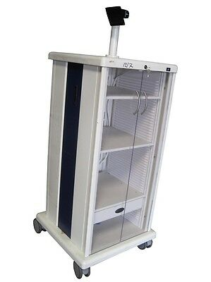 ProMedica Endoscopy Medical OR Video Mobile Rolling Cart Tower Stand Cabinet
