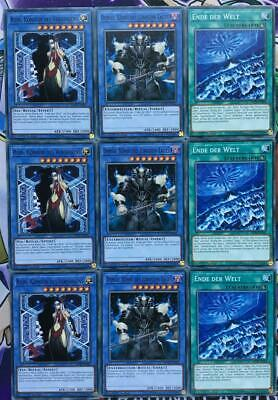 Yu-Gi-Oh SCHICKSALS-HELD/D-HERO DECK/SET/DESO 66 KARTEN DEUTSCH NM