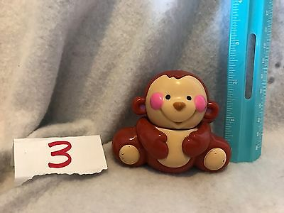 Fisher Price Baby Amazing Animals Monkey  RATTLE  REPLACEMENT GUC