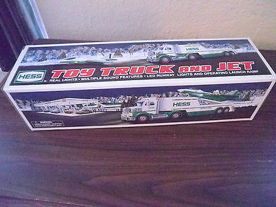 2010 HESS Toy Truck and Jet New in Box Free Shipping