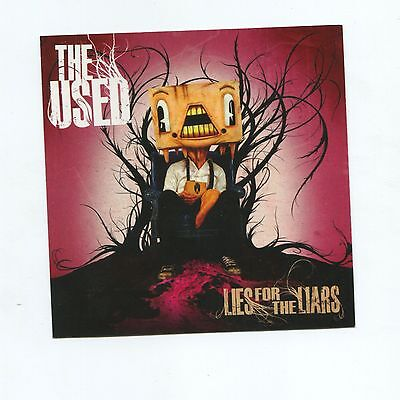 The Used Rare Sticker - Lies For Liars Pretty Handsome Bert McCracken Laptop