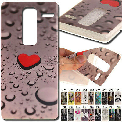 For LG Zero/LG Class Soft Skin IMD+TPU Protective Painted Back Case Rubber Cover