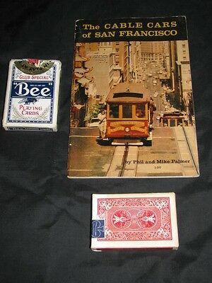 Vintage 1959 CABLE CARS of SAN FRANCISCO Guide Souvenir BOOK Palmer SF City