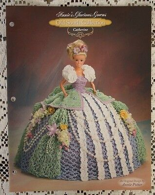 Annies Attic Crochet Leaflet Glorious Gowns Old South Collection Catherine EUC