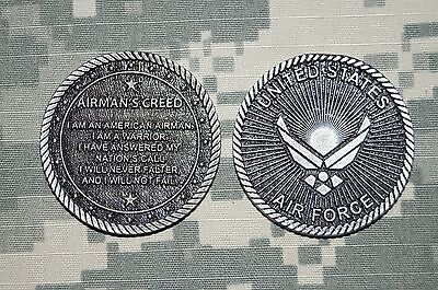 Challenge Coin United States Air Force Airman's Creed