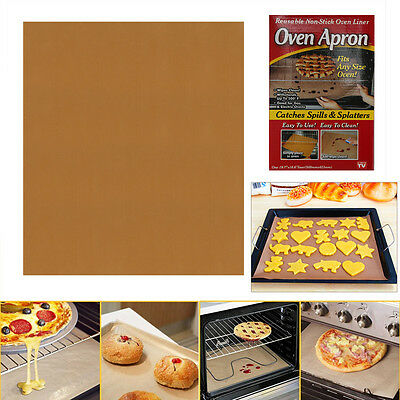 Silicone Greaseproof Oven Bakeware Baking Mat Pad Cooking Paper Kitchen Tool UP