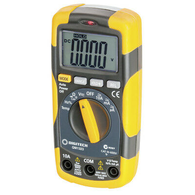 NEW Cat III Multimeter with Temperature QM1323