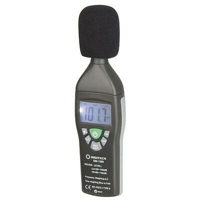NEW Compact Digital Sound Level Meter QM1589