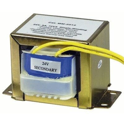 NEW 24V, 72VA, 3A - Single Winding - Type 2158 Transformer MM2012