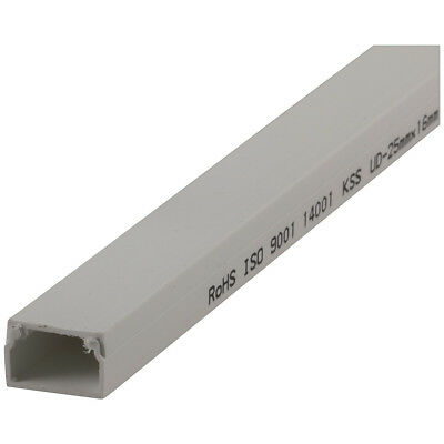 NEW Rectangular Cable Duct - 25 x 16mm - 1m HP1330