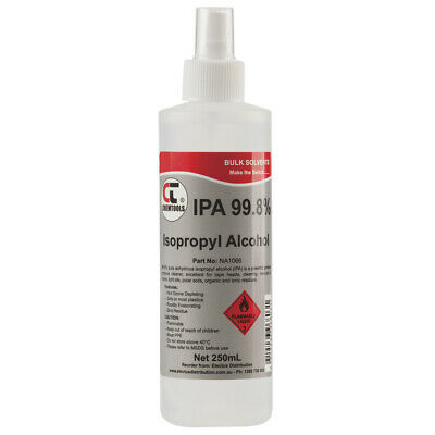Isopropyl Alcohol 99.8% Spray 250ml