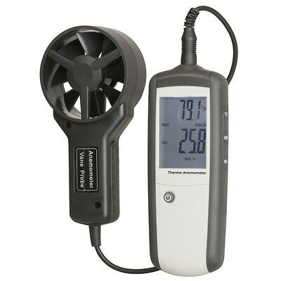 NEW Hand-held Anemometer with Separate Sensor QM1646