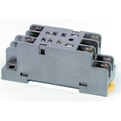 NEW DPDT DIN Rail Mount Relay Cradle SY4064