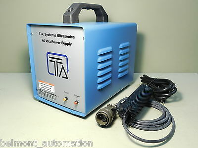 BRAND NEW - T.A. Systems HP500 Ultrasonic Robot Plastic Welding System Welder