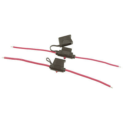 NEW 30A Blade Fuse Holder with Failure Lamp - Water Resistant -Standard SZ2042