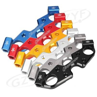 New Lowering Triple Tree Front End Upper Top Clamp For Suzuki Hayabusa 08-13