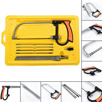 Multi Purpose Magic Saw Hand Hold Saw 3 Way Diamond 6 Blade Combination Kit DIY