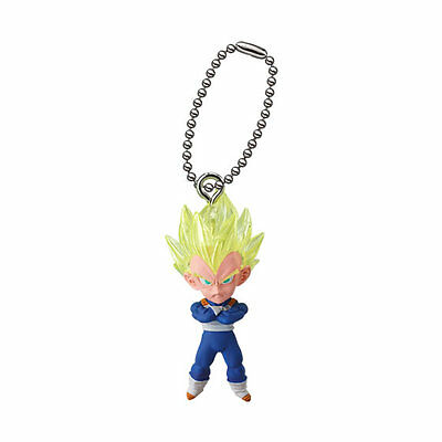 Dragon Ball Z Super Mascot PVC Keychain SD Figure ~ Super Saiyan Vegeta @11471