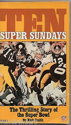 Ten Super Sundays - Scholastic Paperback USA Super Bowl by Rick Smith - 1976