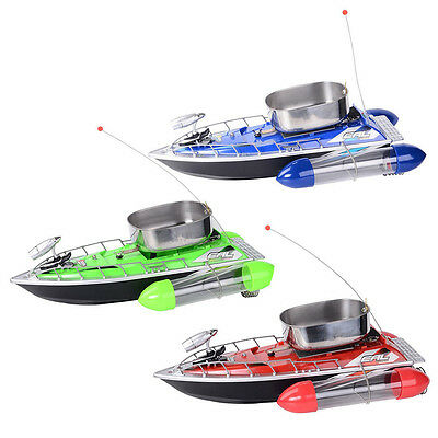 Mini Remote Controlled RC Fishing Adventure Lure Bait Boat for Finding Fish