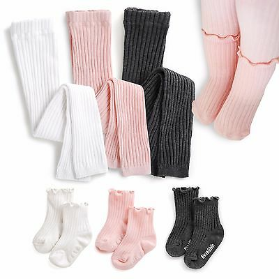 "Vaenait Baby Kids Girls 3Color Anti-slip Socks ""Shasha leggings N Socks"" 0-8T"