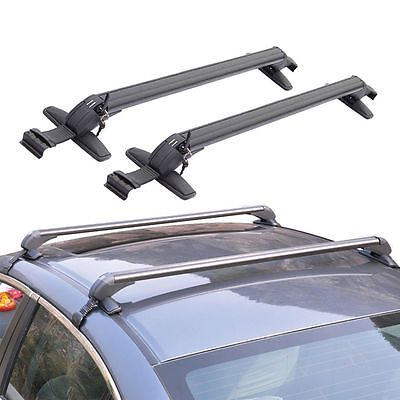 Professional Universal Cars Anti Theft Car Roof Bars Without Rails Lockable Rack