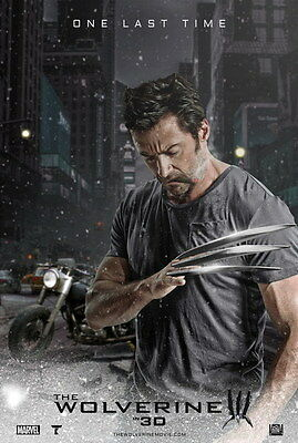 "022 The Wolverine 3 - Hugh Jackman Action 2017 Movie 14""x20"" Poster"