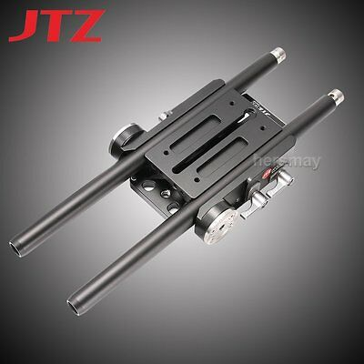 JTZ DP30 Quick Release Baseplate Base Plate 15mm Rod Rig for Follow Focus DSLR