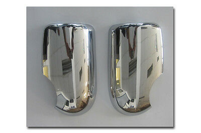 Brand New Ford Transit MK7 Door Wing Mirror Chrome Trim Covers Pair 2006 2012