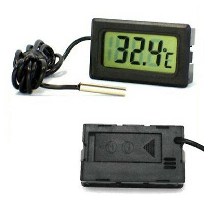 Digital LCD Temperature Kitchen Thermometer Freezer Outdoor Probe °C Celsius NEW