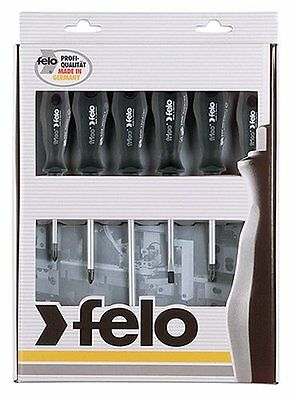 Felo Series 500 Frico 6pc Screwdriver set (Slotted & Philips) 500 961 17
