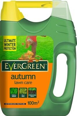 Miracle-Gro Evergreen Autumn Lawn Care 100m2 Spreader Lawn Food