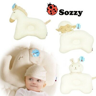 OZ Cotton Elephant Newborn Baby Infant Sleep Positioner Pillow Head Support Care