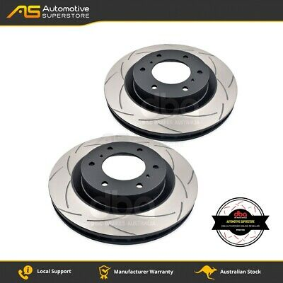 DBA2216S Brake Disc Rotor Pair 4X4 Survival Series T2 Slotted DBA