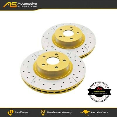 DBA2216X Brake Disc Rotor Pair 4X4 Survival Series T2 Slotted DBA