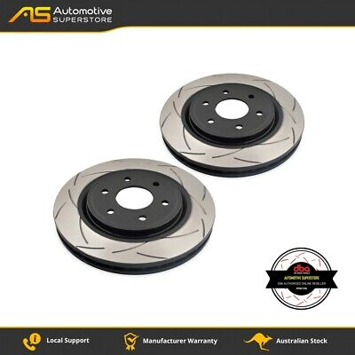 DBA2310S Brake Disc Rotor Pair 4X4 Survival Series T2 Slotted DBA