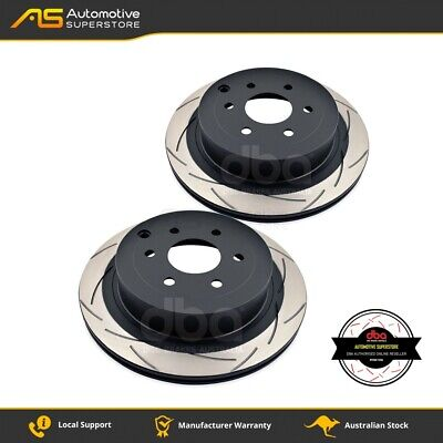 DBA2311S Brake Disc Rotor Pair 4X4 Survival Series T2 Slotted DBA