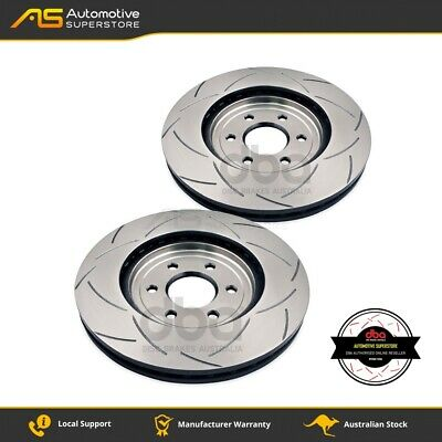 DBA2312S Brake Disc Rotor Pair 4X4 Survival Series T2 Slotted DBA