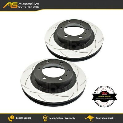 DBA2716S Brake Disc Rotor Pair 4X4 Survival Series T2 Slotted DBA