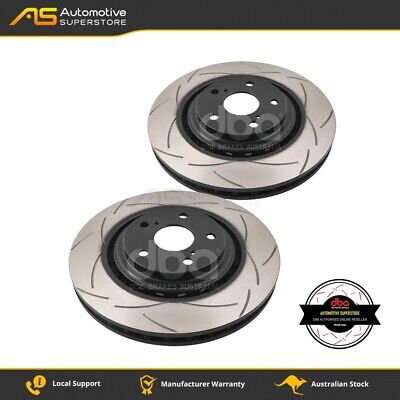 DBA2734S Brake Disc Rotor Pair 4X4 Survival Series T2 Slotted DBA