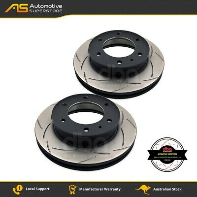 DBA2952S Brake Disc Rotor Pair 4X4 Survival Series T2 Slotted DBA
