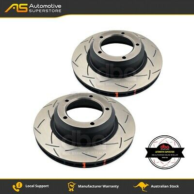 DBA4086S Brake Disc Rotor Pair 4X4 Survival Series 4000 T3 Slotted DBA