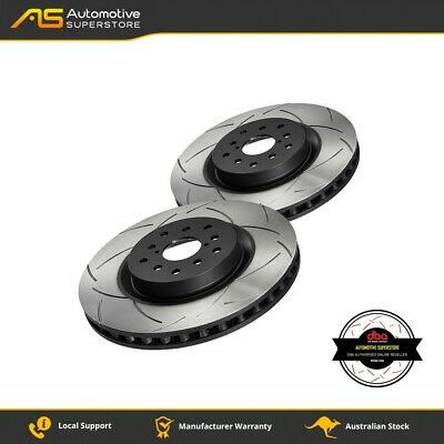 DBA4096S Brake Disc Rotor Pair 4X4 Survival Series 4000 T3 Slotted DBA