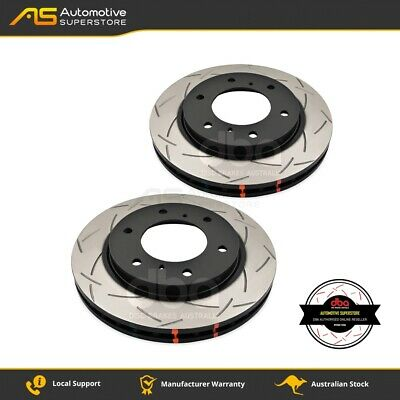 DBA42208S Brake Disc Rotor Pair 4X4 Survival Series 4000 T3 Slotted DBA