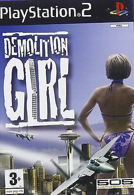 Demolition Girl (Sony PS2) Brand New Sealed Kids Childrens Action Game Boys PAL