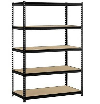 5-Level Adjustable Shelves Heavy Duty Shelf Garage Steel Metal Storage  Rack NEW